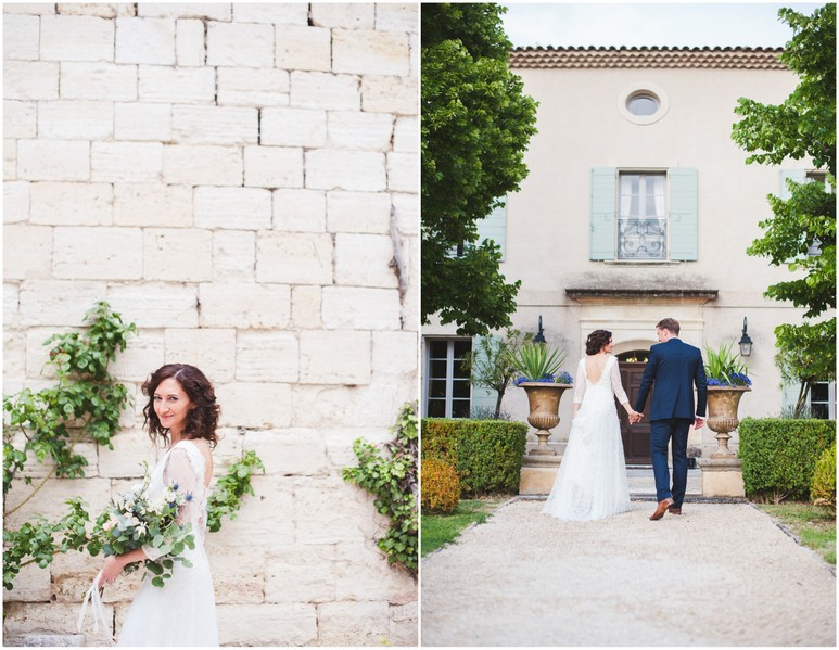Nicole and Jerome Provence villa wedding