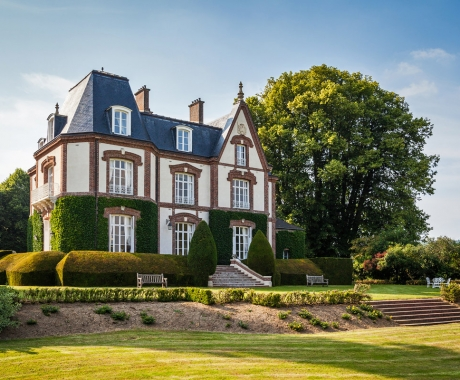 Manor House in the Normandy countryside