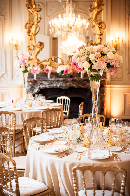 Grand Palais elegant paris wedding