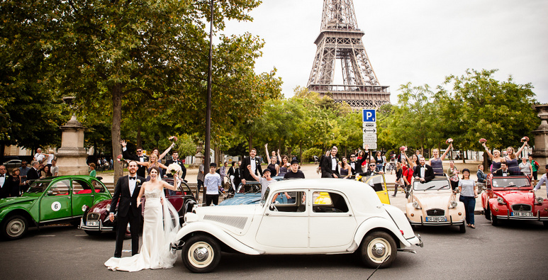 Mary and Jason elegant paris wedding