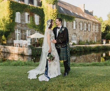 Imogen & Matt | Celtic Vegan Wedding in Brittany