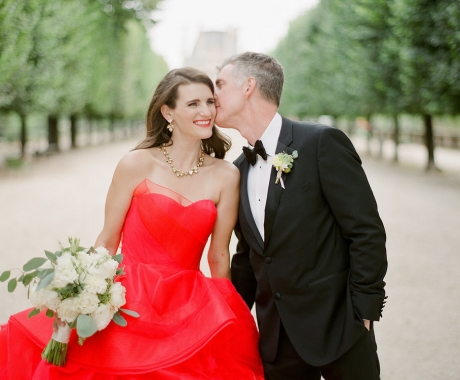 Colleen & Matthew | The Bride Wore Red
