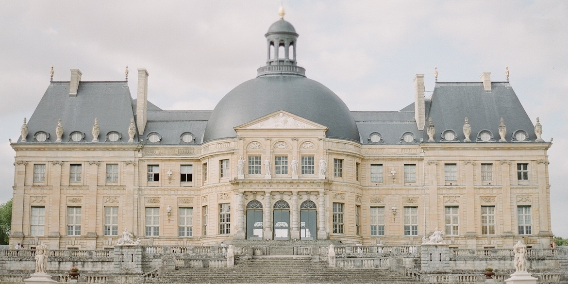 france luxury wedding chateau
