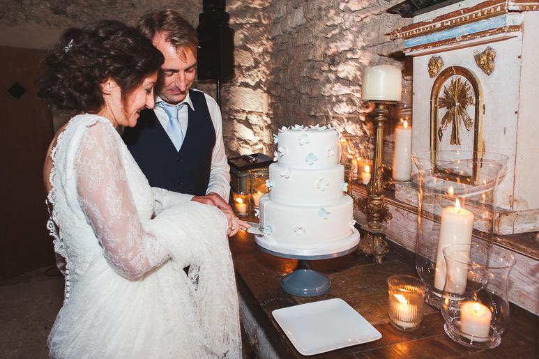 Nicole and Jerome Provence villa wedding