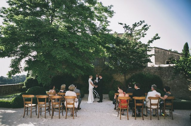 Provence Garden Square wedding
