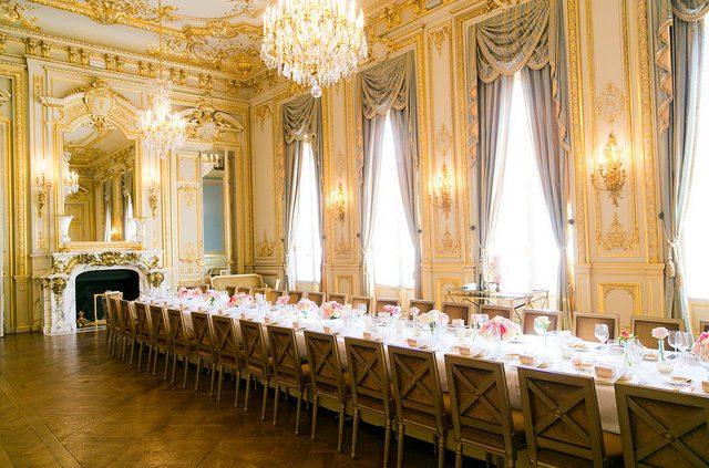 Paris Luxury Hotel Mansion wedding