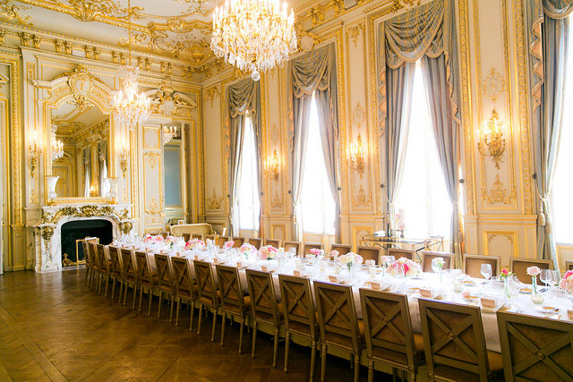 Paris Luxury Hotel Mansion wedding