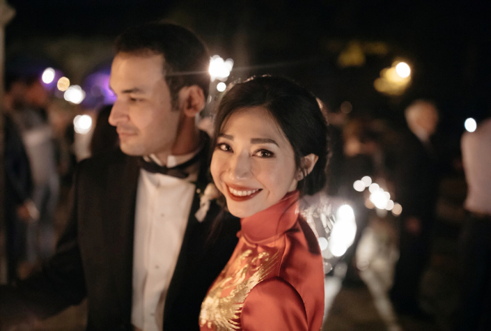 Franco-Chinese wedding in France