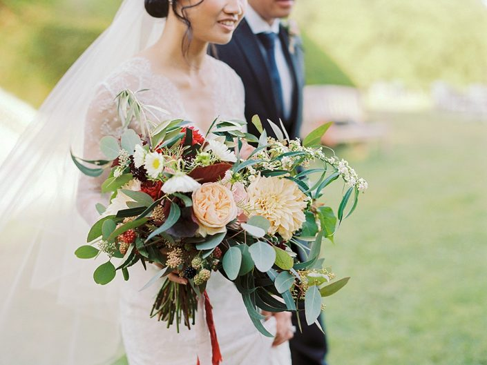French countryside wedding bouquet