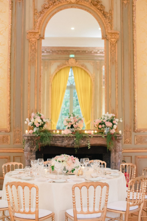 Loire Valley chateau wedding reception planned by Fête in France