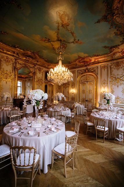 Grand Palais elegant paris wedding