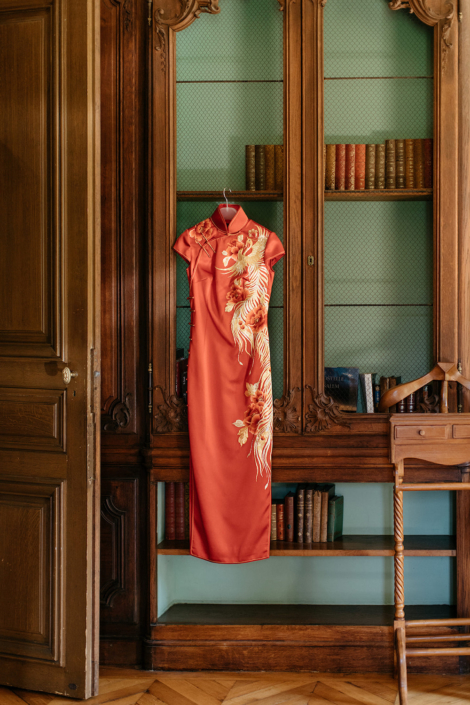 Paris luxury Franco-Chinese wedding
