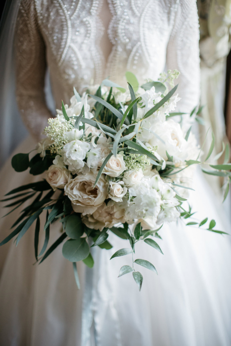 Paris wedding bouquet