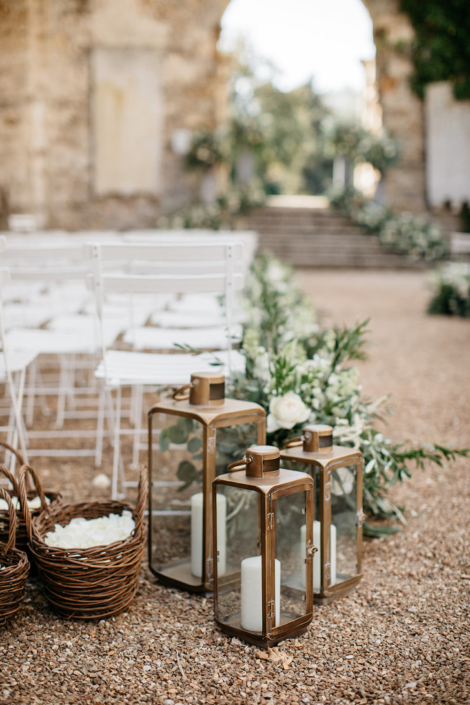 Paris wedding ceremony decor