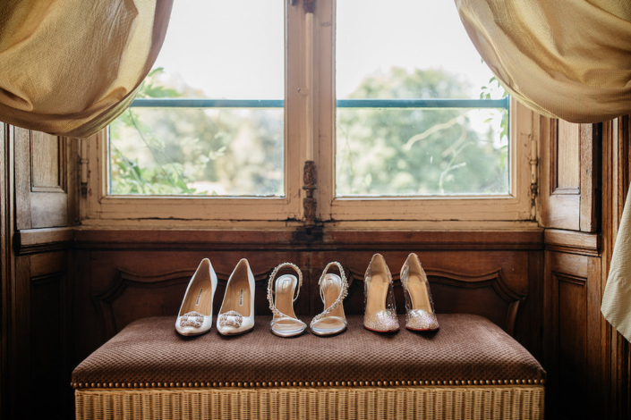 Wedding shoes for a luxury Paris wedding