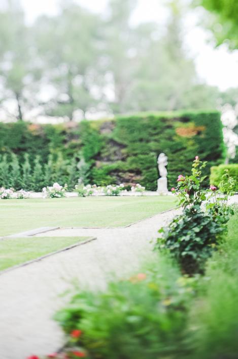 Provence garden wedding