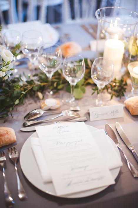Provence villa wedding table decor