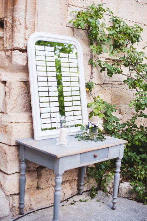 Provence villa wedding decoration