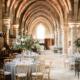 Wedding reception historic Abbey hotel wedding planned by Fête in France