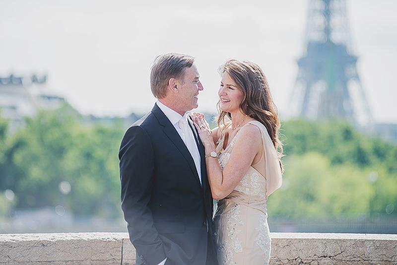 Paris vow renewal