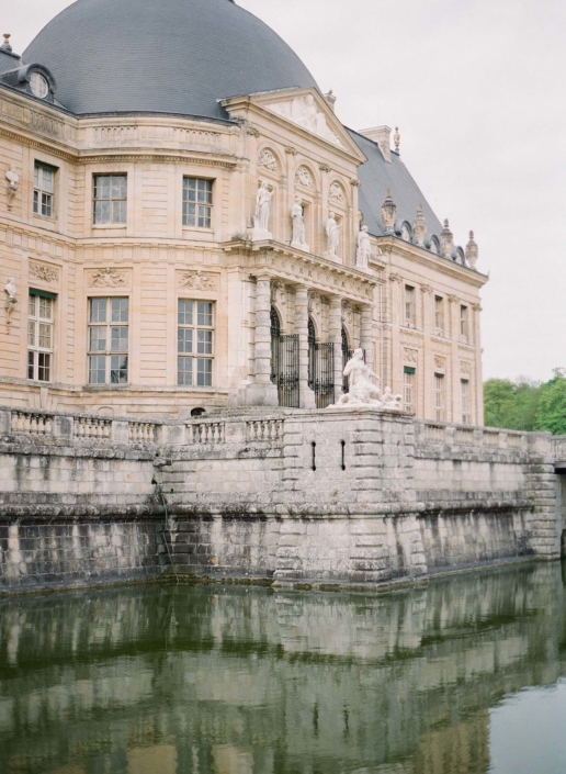 Historic Château Vaux le Vicomte luxury wedding planned by Fête in France