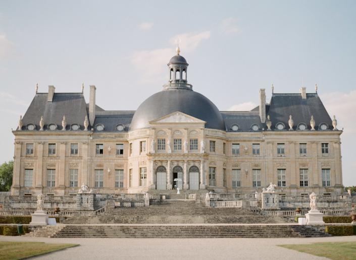 Wedding in France at a spectacular château near Paris