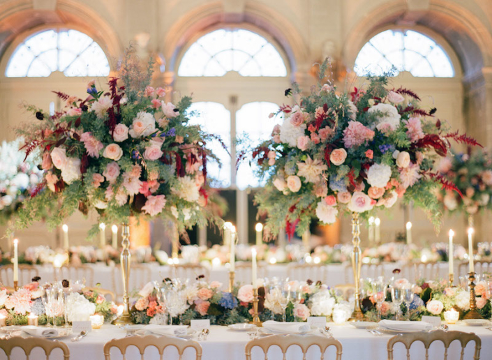 Paris luxury chateau wedding planned by Fête in France