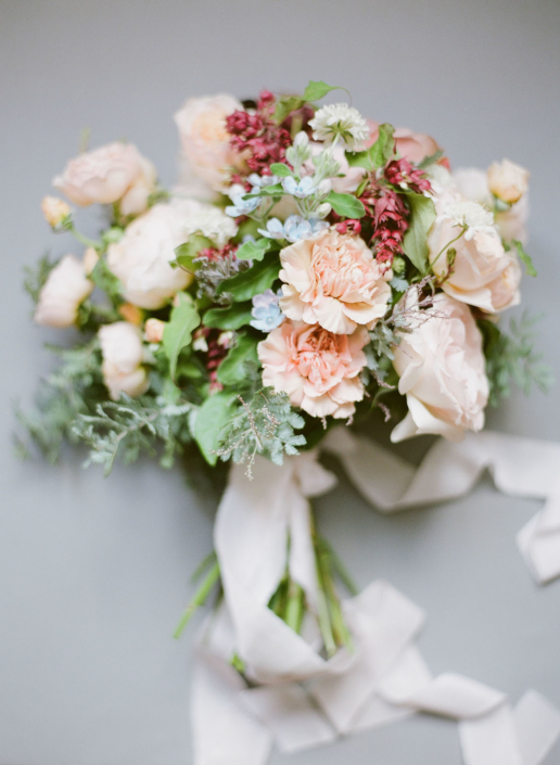 Paris wedding bouquet