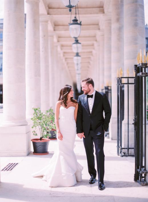 Paris luxury wedding
