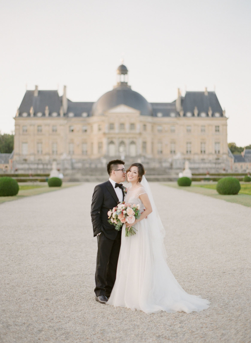 Wedding at a spectacular château near Paris planned and designed by Fête in France