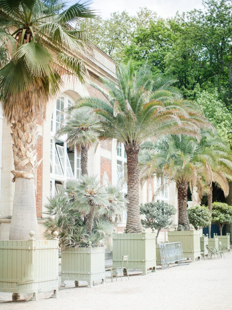 Tropical Themed Paris Wedding Inspiration Fte In France