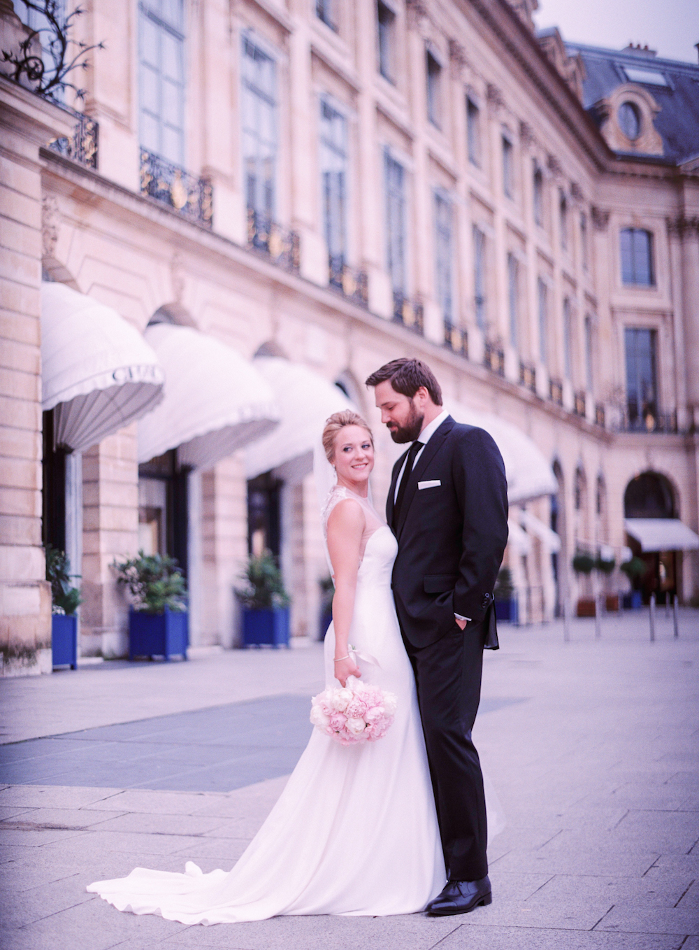Wedding photo Place Vendome
