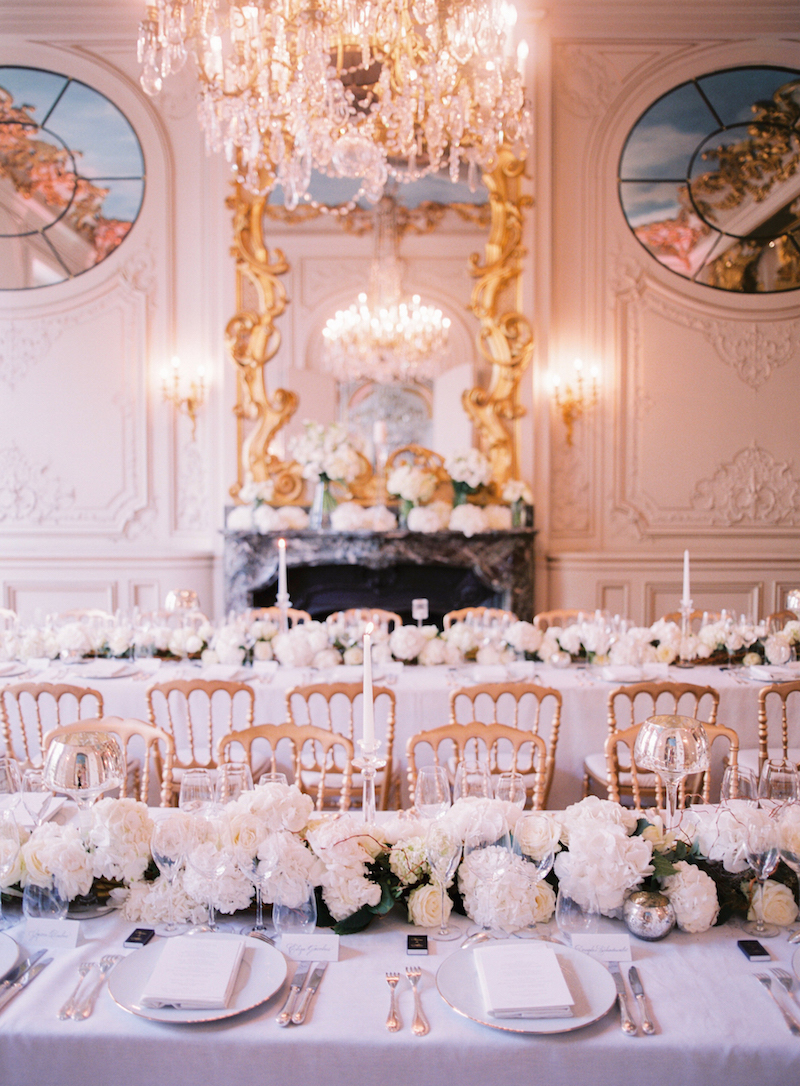 Elegant paris wedding archives f te in france for Art decoration france