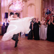 Luxury ballroom wedding in Paris