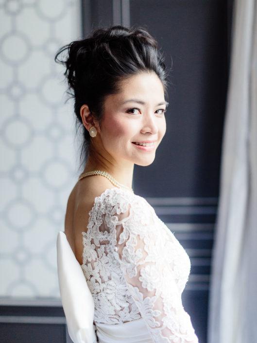 Paris bridal gown by Oscar de la Renta