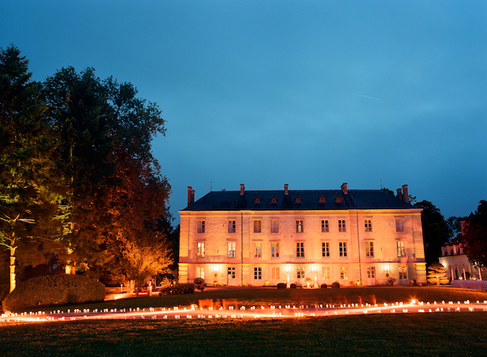 Privat chateau in Burgundy