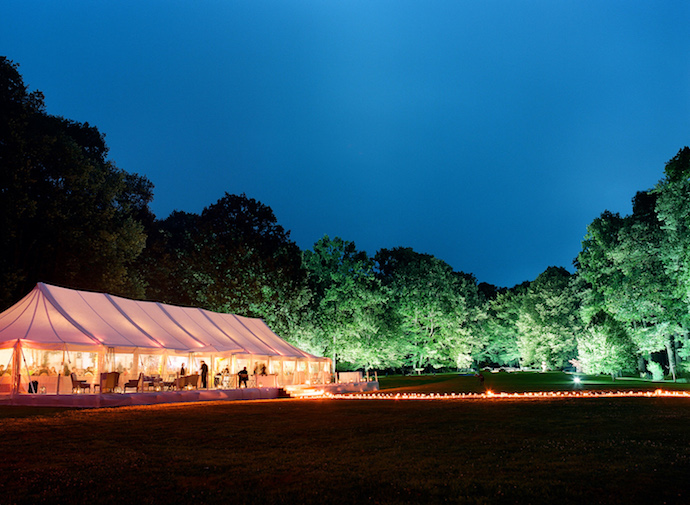 Tent wedding planned by Fête in France