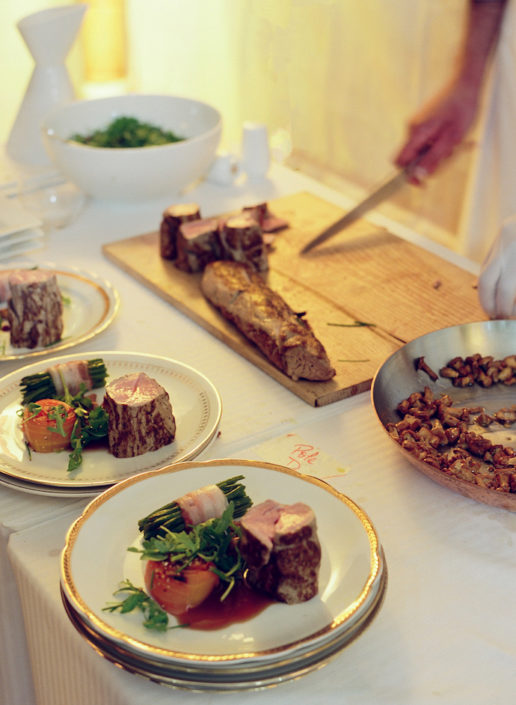 Luxury wedding catering by Potel & Chabot