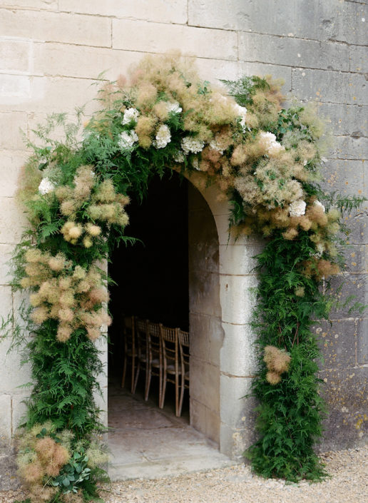 French wedding ceremony planned by Fête in France