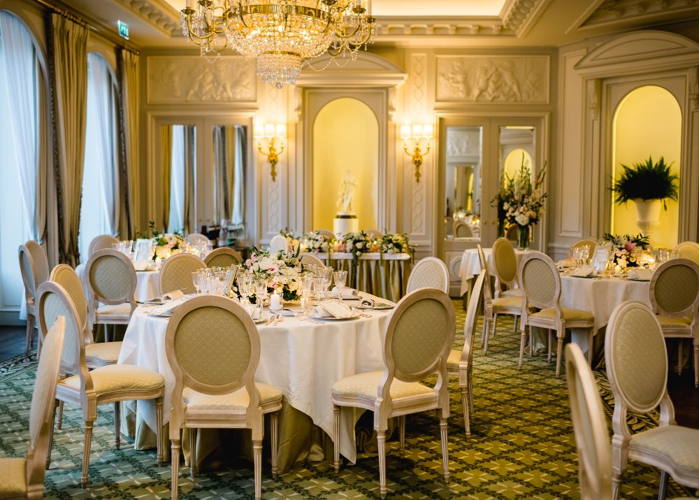 Ritz Paris intimate wedding planned by Fête in France