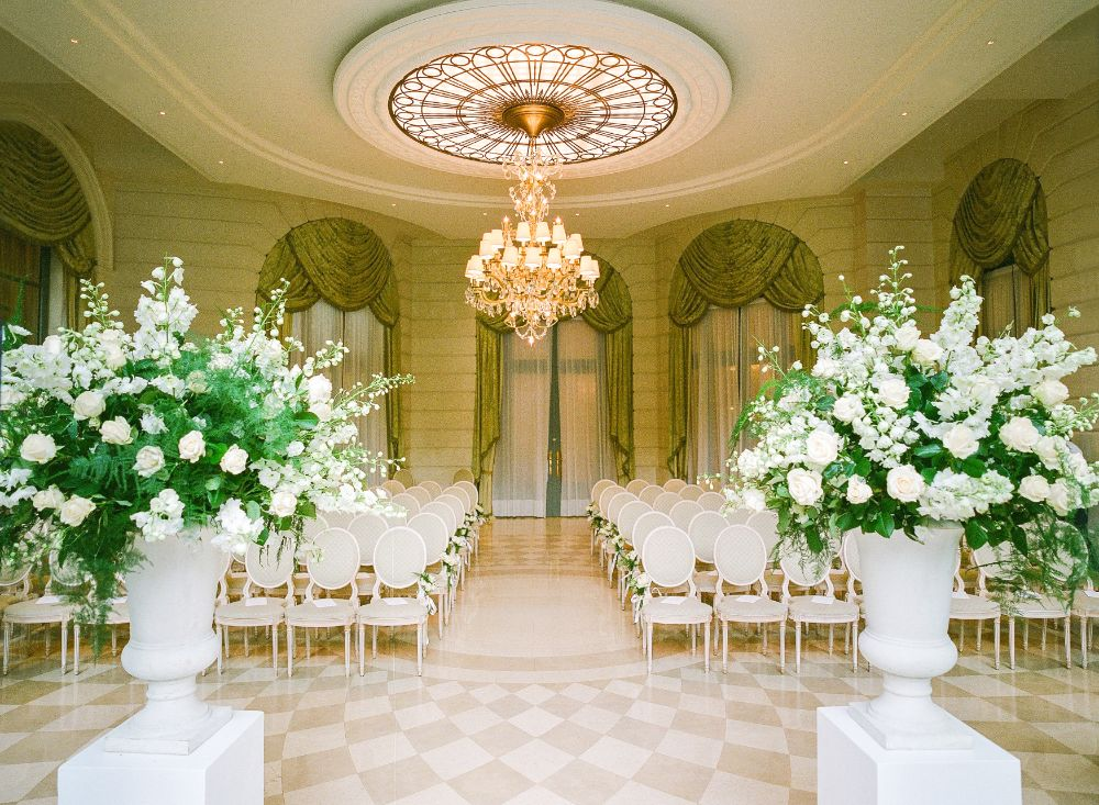Ritz Paris wedding ceremony planned by Fête in France
