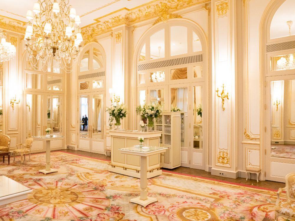 Ritz Paris wedding reception planned by Fête in France
