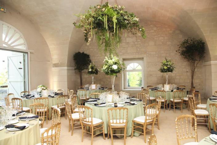 Château de la Bourdaisière wedding reception