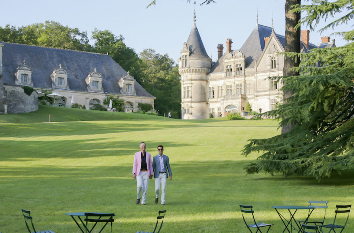 Loire Valley chateau wedding planned by Fête in France
