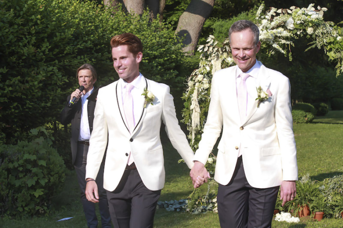 Same-sex wedding in France