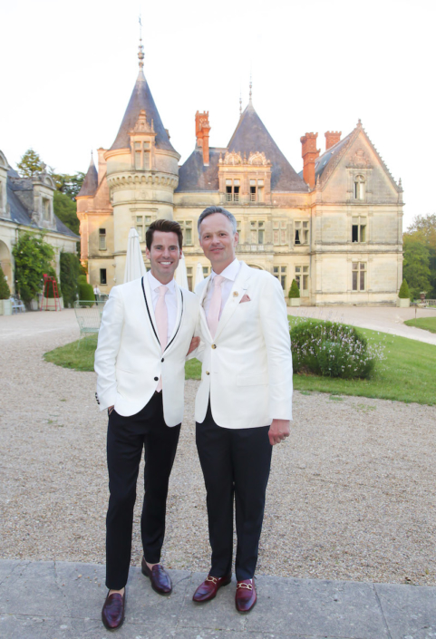 Same sex wedding Loire Valley