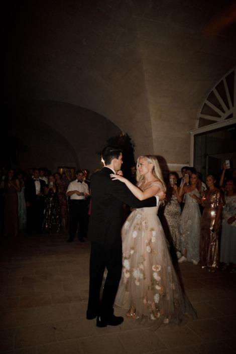 French château wedding first dance
