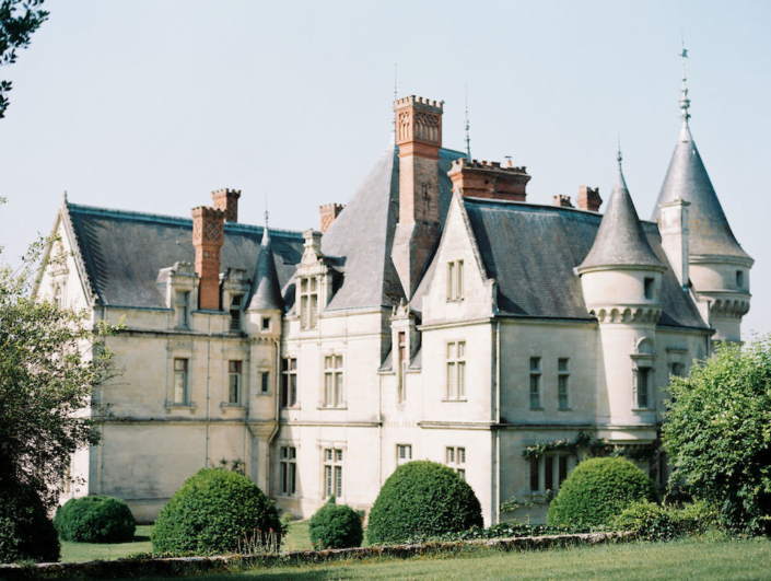 French château and gardens