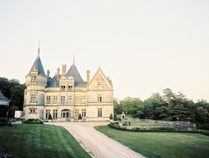 Château wedding venue in the Loire Valley