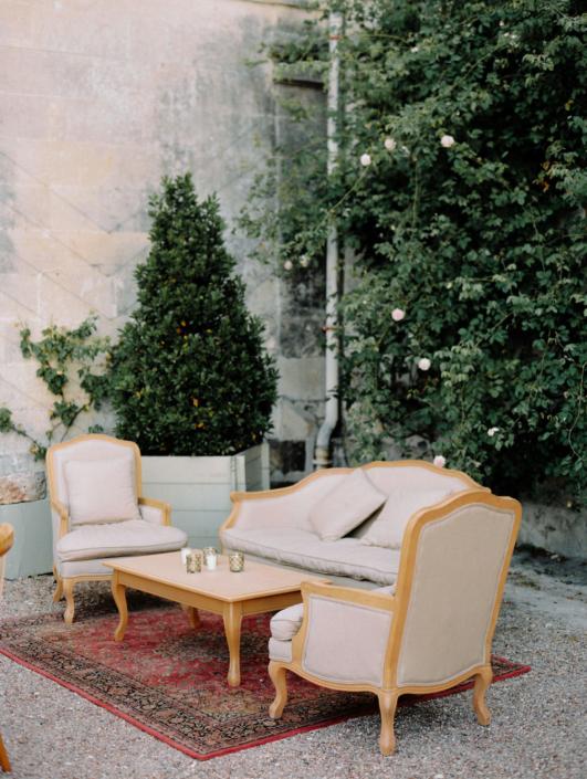 French château Wedding designer